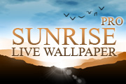 Sunrise Pro Live Wallpaper